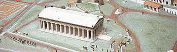 Frühester Zeustempel in Olympia