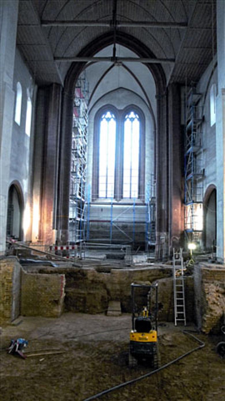 Ausgrabung St. Johanniskirche Mainz