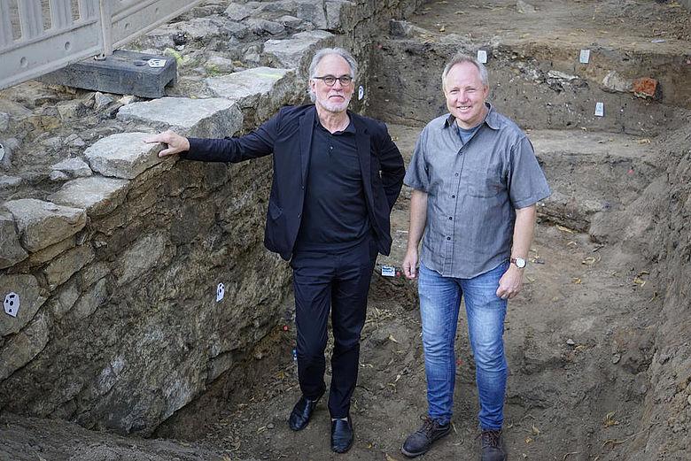 Christoph Laue und Sven Spiong