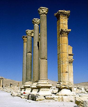 Palmyra: Eingang der Diokletiansthermen