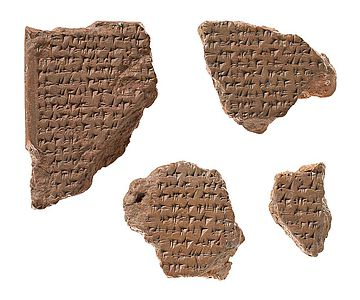 Ältester erhaltener Friedensvertrag zwischen Ramses II. und Ḫattušili III.