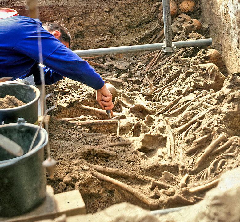 Ausgrabung in Lübeck