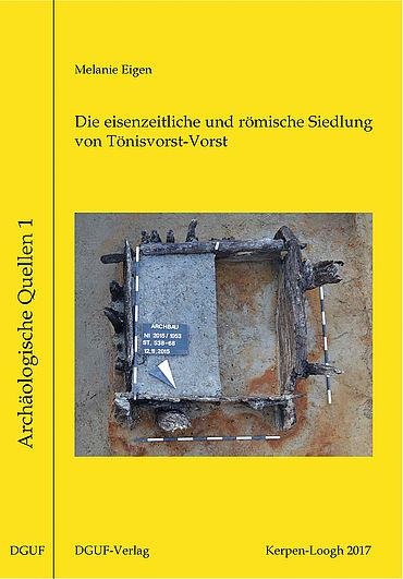 Buchcover Archäologische Quellen 1