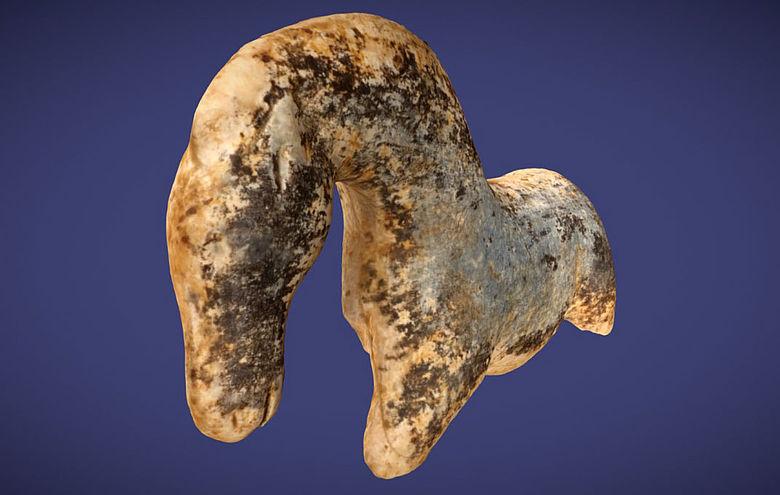 Mammutelfenbeinfigur vom Vogelherd (3D-Modell)