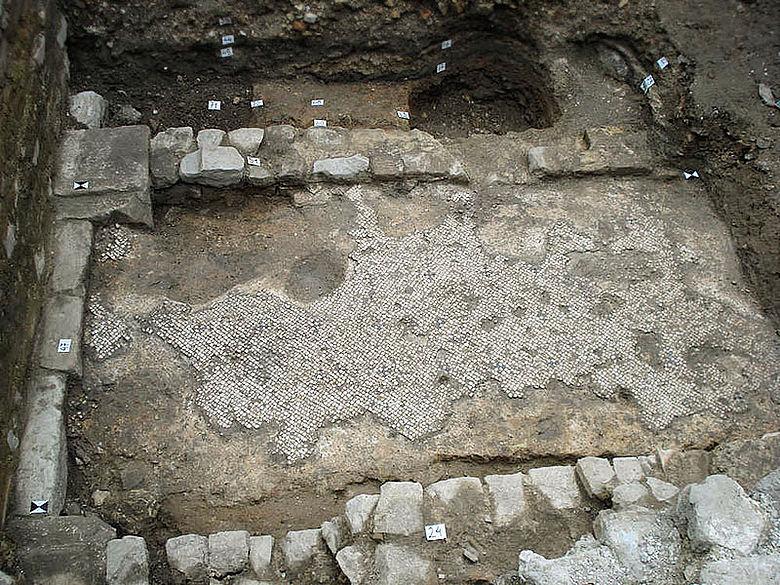 Spätantikes Haus in Aquileia