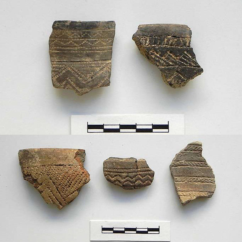 Kupferzeitliche Keramik