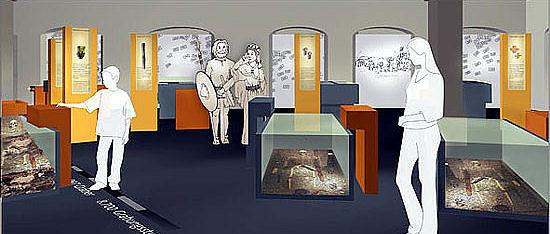 Ein neues Museum für einen alten Fundplatz