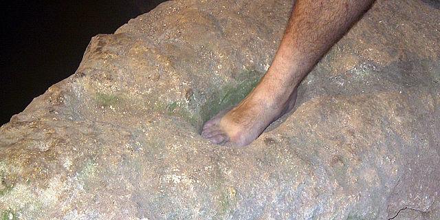 Johannes taufte in einer Höhle