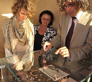 Präsentation der Qatna-Funde 2010