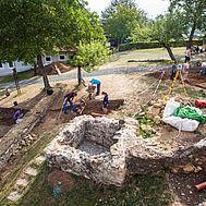 Ausgrabung am Frauenberg