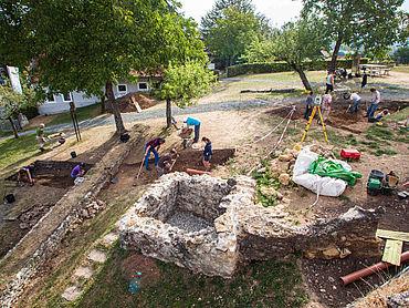 Ausgrabung Frauenberg