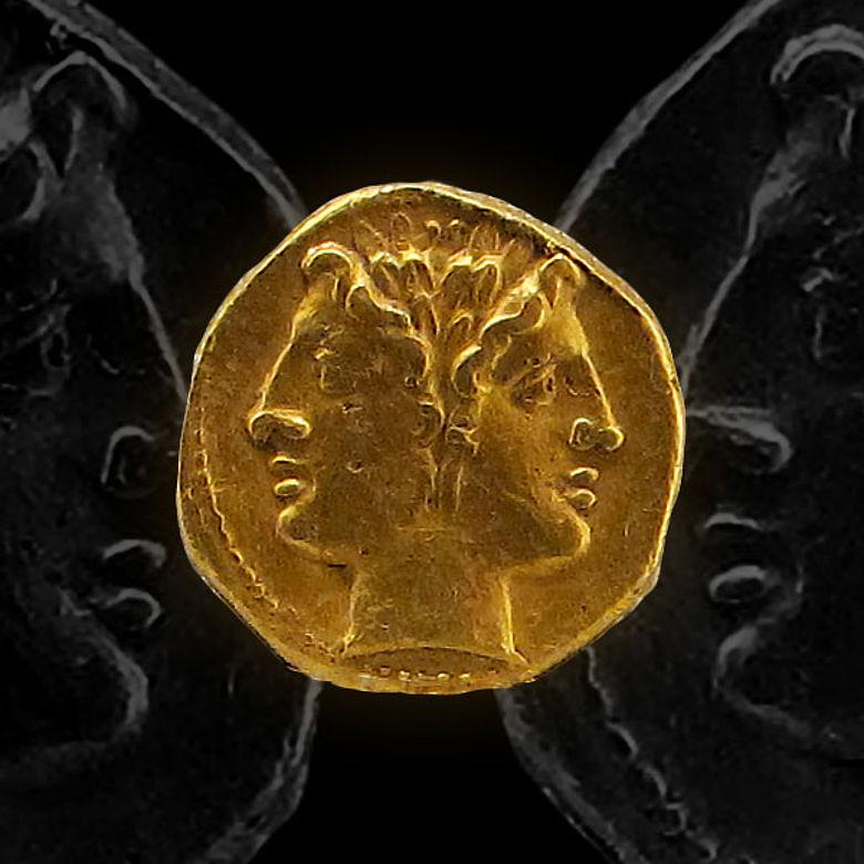 Goldstater der Römischen Republik