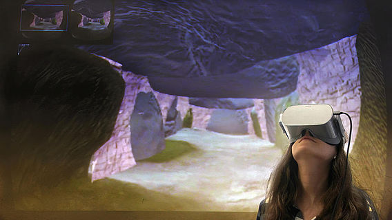 Mit Virtual Reality ins Megalithgrab