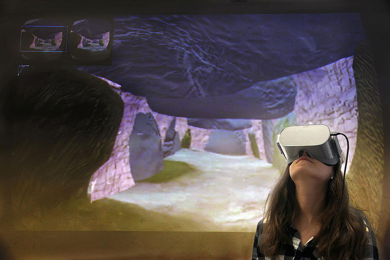 Mit Virtual Reality ins Megalithgrab