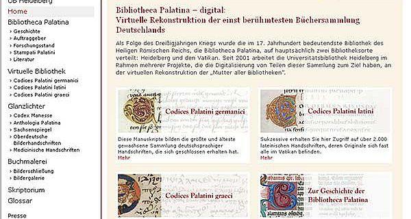 Bibliotheca Palatina – digital