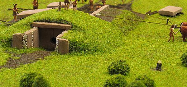 Megalithgrab (Modell)
