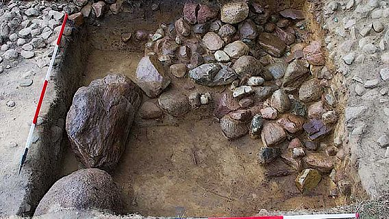 Grabhügel von Seddin: Steinring