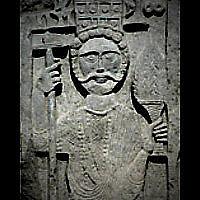Königsfigur aus Zafar