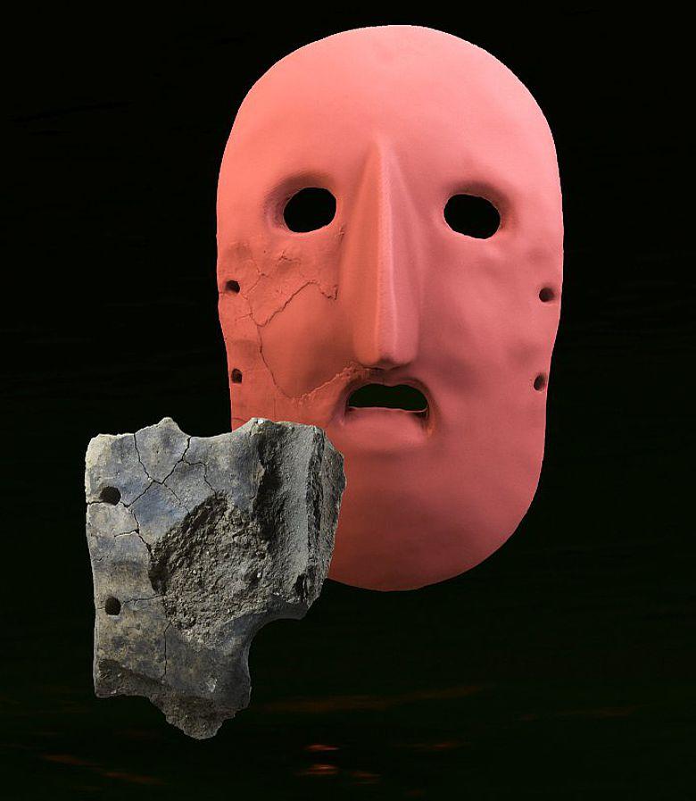Das Maskenfragment von Schussenried-Riedschachen und seine Ergänzung zur Gesichtsmaske