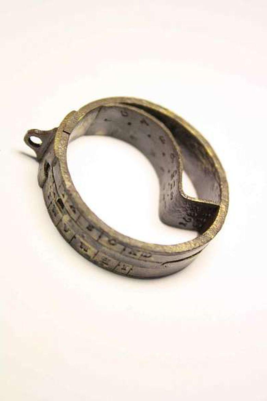 Die Taschensonnenuhr von 1682 aus dem Besitz des Fraters Wilhelm Buchberger (Foto: LBI ArchPro)