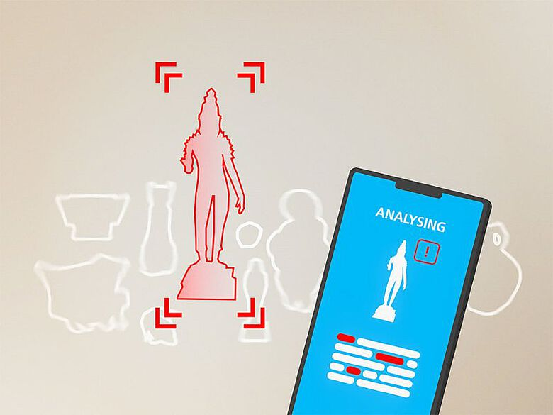 Künstliche Intelligenz in einer App hilft, illegale Kulturgüter zu erkennen