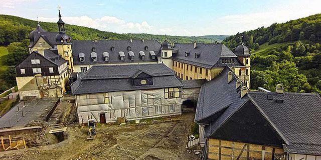 Ausgrabung Schloss Stolberg