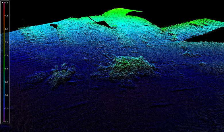 3D-Bild Süßer See