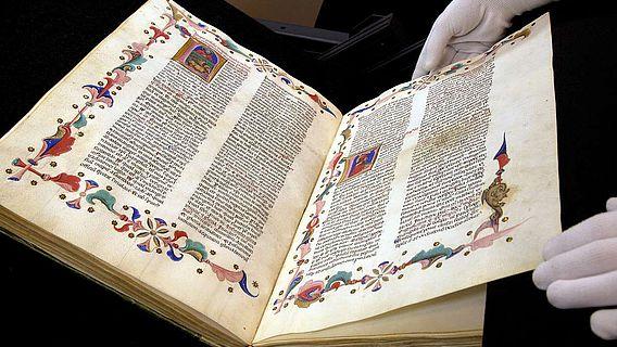Illustrierter lateinischer Prachtkodex aus der Biblioteca Apostolica Vaticana