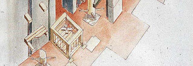Rom - Kolosseum - Raubtier-Lift