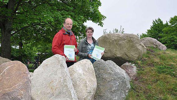SFB-Sprecher Johannes Müller (Archäologie) und Co-Sprecherin Wiebke Kirleis (Umweltarchäologie)
