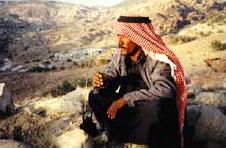 Scheich der Amarin-Beduinen