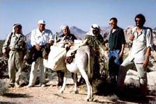Expeditionsteam auf Dschebel Suffaha