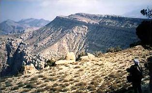 Nordflanke des Djebel Suffaha