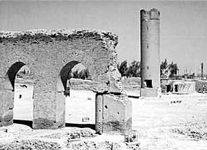 Die alte Moschee ar-Raqqas zeugt von vergangenem Glanz. (Foto: Heidemann, Uni Jena)