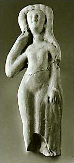 Muttergöttin in Gestalt der badenden Venus (Quelle: Clemens-Sels-Museum Neuss)