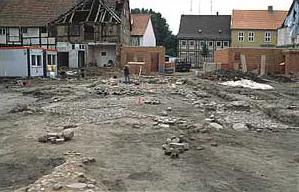 Überblick des Grabungsareals Neuperver Straße in Salzwedel. (Foto: Sigird Woehl)