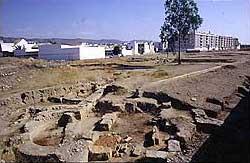 Einige Überreste der wohl für Maximian errichteten villa suburbana in Cordoba. (Foto: Wolfgang Kuhoff)