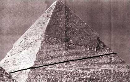 Funktionsrampe an der CHEPHREN Pyramide. (Grafik: Willburger)