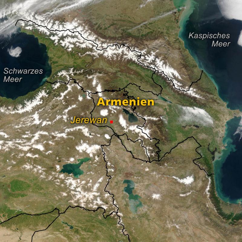 Luftbildarchaologie In Armenien Archaologie Online
