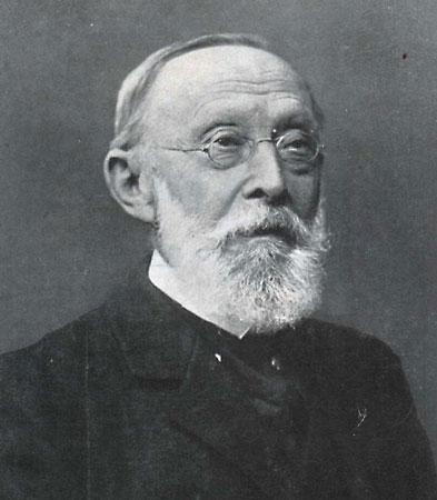 Der berühmte Mediziner Rudolf Virchow (1821 - 1902) prägte 1880 den Begriff »Lausitzer Kultur« (Abb. Museum Westlausitz)