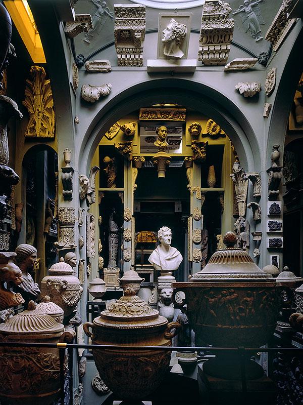 Kuppelraum im Sir John Soane's Museum