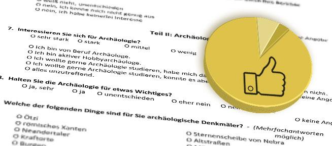 Umfrage: Archäologie stößt auf großes Interesse in der Bevölkerung
