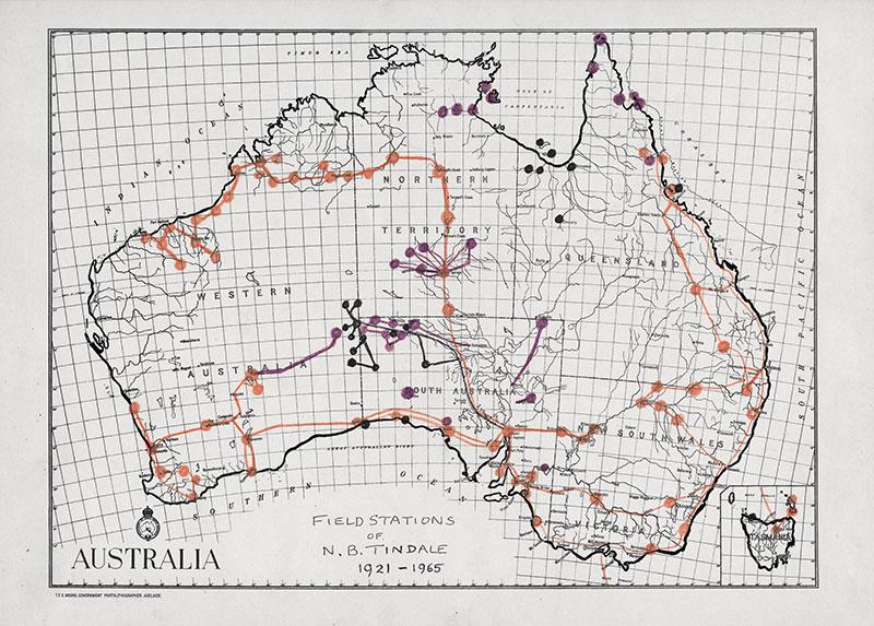 Expeditionen in Australien