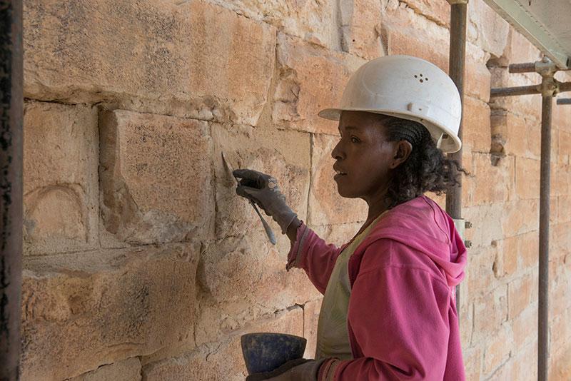 Restaurierung Mauerwerk