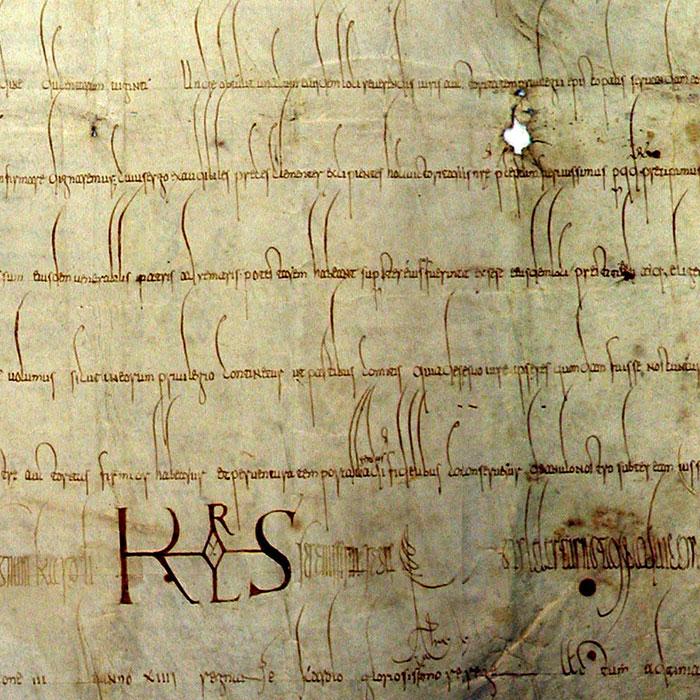Frühmitterlalterliche Handschrift