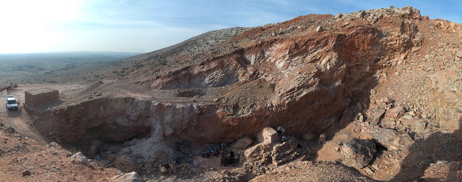 Fundstelle Jebel Irhoud