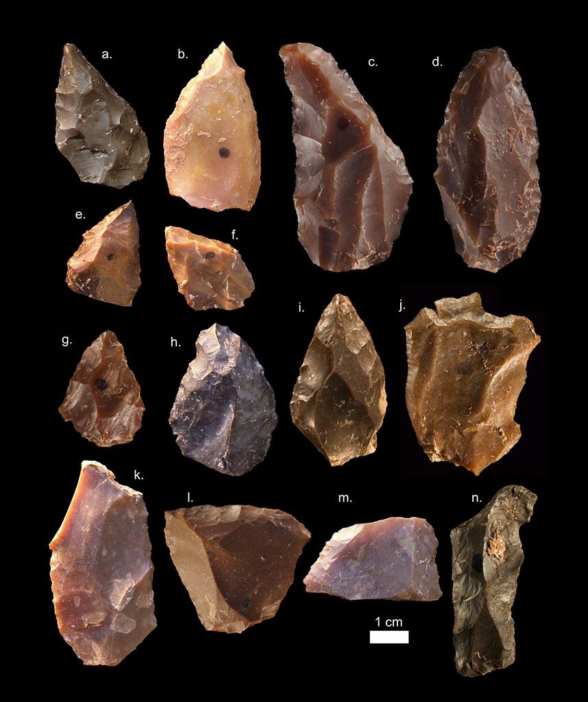 Steinwerkzeuge (Mittlere Steinzeit)