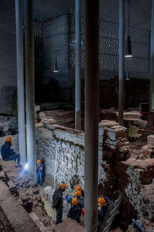 Durch das Projekt sollen die bis in die Römerzeit zurückreichenden archäologischen Spuren auf dem Gelände der Kirchenruine St. Kolumba erhalten werden