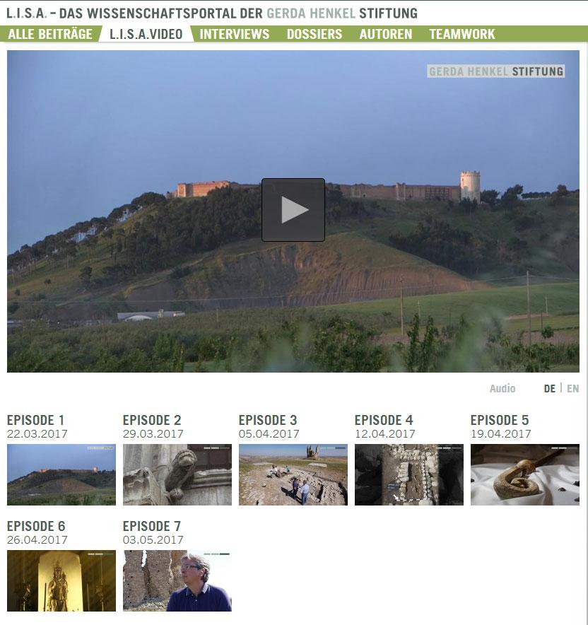 Screenshot L.I.S.A Wissenschaftsvideo Tertiveri