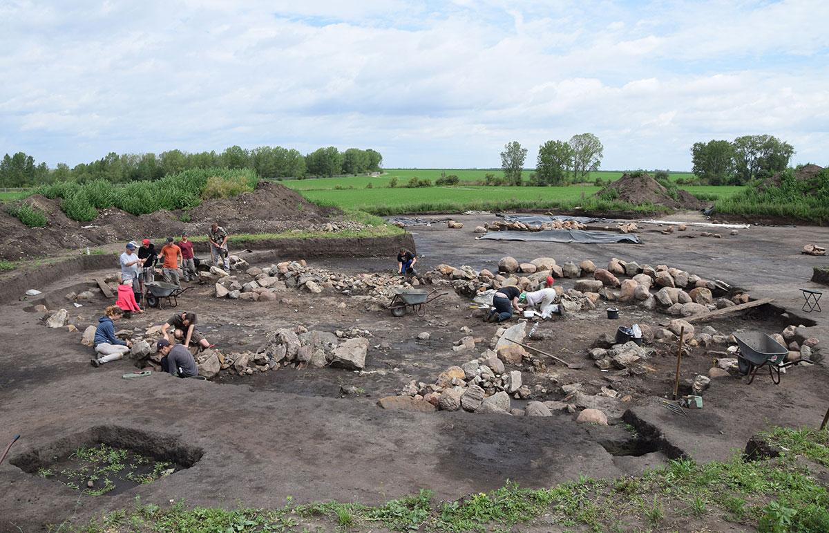 Ausgrabung am Bornhöck